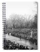 Lincolns Inauguration Spiral Notebook