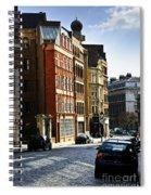 London Street Spiral Notebook