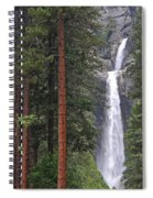 Lower Yosemite Falls Spiral Notebook