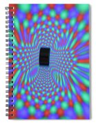 Magnetic Fields Spiral Notebook