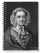 Mary Russell Mitford Spiral Notebook