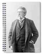 Mathew Brady, Father Of Photojournalism Spiral Notebook