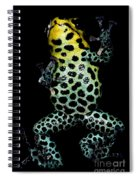 Mimic Poison Frog Spiral Notebook