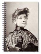 Minnie Maddern Fiske Spiral Notebook