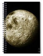 Moon, Apollo 16 Mission Spiral Notebook