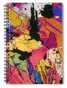Moon Rock, Transmitted Light Micrograph Spiral Notebook