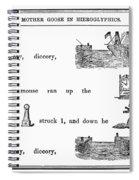 Mother Goose, 1849 Spiral Notebook