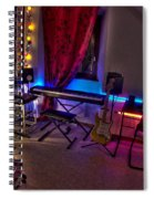 Music Studio Spiral Notebook