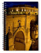 New Bridge In Ronda Spiral Notebook