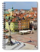 Old Town In Warsaw Spiral Notebook