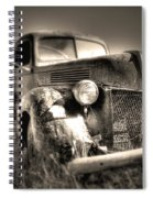 Old Truck At Bodie Spiral Notebook
