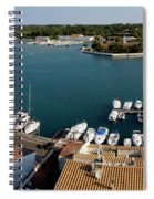 Panoramic Town 1 Spiral Notebook