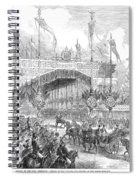 Paris Exposition, 1855 Spiral Notebook