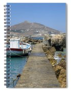 Paros - Cyclades - Greece Spiral Notebook