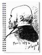 Paul Verlaine (1844-1896) Spiral Notebook