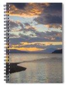 Pend Oreille Sunset Spiral Notebook