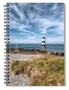 Penmon Point Spiral Notebook