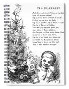 Peters Jul, C1870 Spiral Notebook