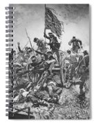Picketts Charge, 1863 Spiral Notebook