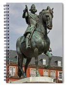 Plaza Mayor Spiral Notebook