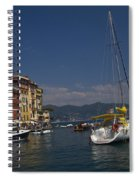 Portofino In The Italian Riviera In Liguria Italy Spiral Notebook