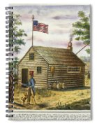 Presidential Campaign, 1840 Spiral Notebook