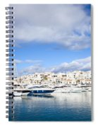 Puerto Banus In Spain Spiral Notebook