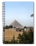 Pyramids Of Giza Spiral Notebook