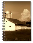 Cattle Farm Mornings Spiral Notebook