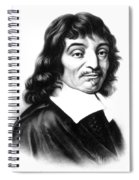 Ren� Descartes, French Polymath Spiral Notebook