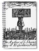 Richard Steele (1672-1729) Spiral Notebook
