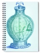 Robert Boyles Air Pumps Spiral Notebook