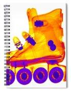 Rollerblade Boot Spiral Notebook