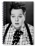 Roscoe Fatty Arbuckle Spiral Notebook
