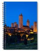San Gimignano Spiral Notebook