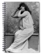 Sarah Bernhardt, French Actress Spiral Notebook