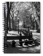 Scenes From Central Park Spiral Notebook