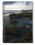 Sea At Sunset Spiral Notebook