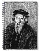 Sebastian Cabot Spiral Notebook