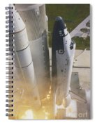 Shuttle Lift-off Spiral Notebook