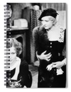 Silent Film Still: Women Spiral Notebook