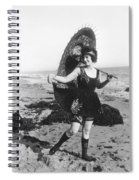 Silent Still: Bather Spiral Notebook