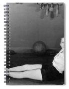Silent Still: Exercise Spiral Notebook