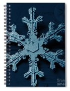 Snow Crystal Spiral Notebook