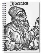 Socrates, Greek-athenian Philosopher Spiral Notebook