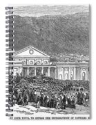 South Africa: Cape Town Spiral Notebook