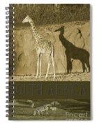 South Africa Spiral Notebook