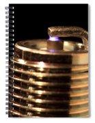 Spark Plug Firing Spiral Notebook