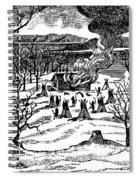 Spirit Lake Massacre, 1857 Spiral Notebook