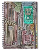 Streets Of Bel Air Spiral Notebook